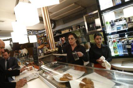 Trabajadoras de una cafetería