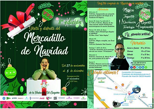 Mercadillo navideño de la Fundación Gil Gayarre