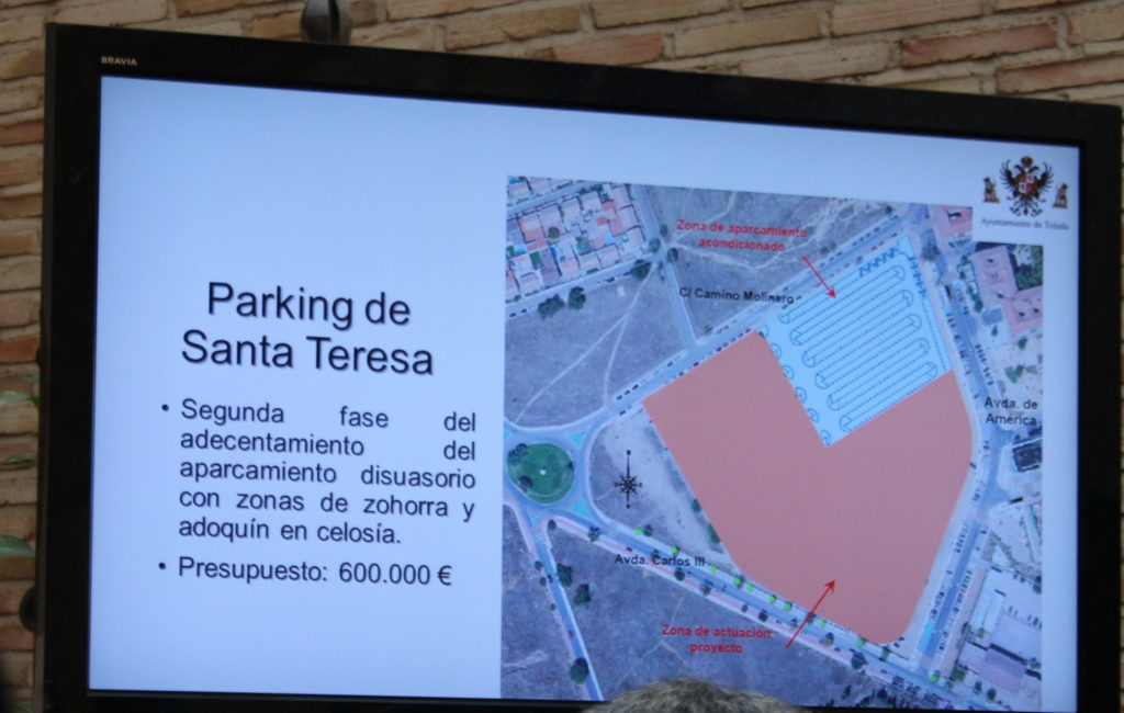 Inversión segunda fase parking Santa Teresa