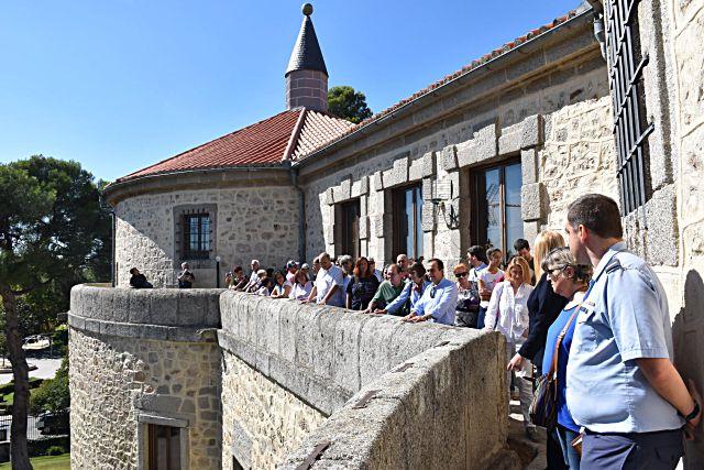 Visita al castillo de Villaviciosa de Odón
