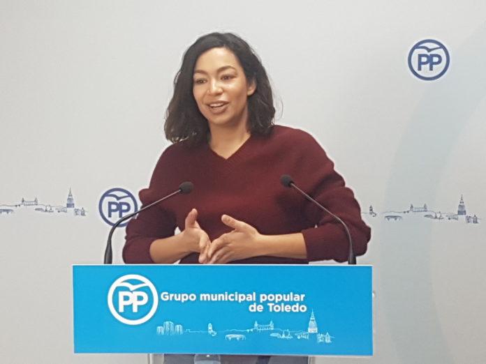 La portavoz del Partido Popular Claudia Alonso