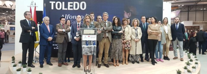 Presentación en Fitur 2020 de la ciudad de Toledo