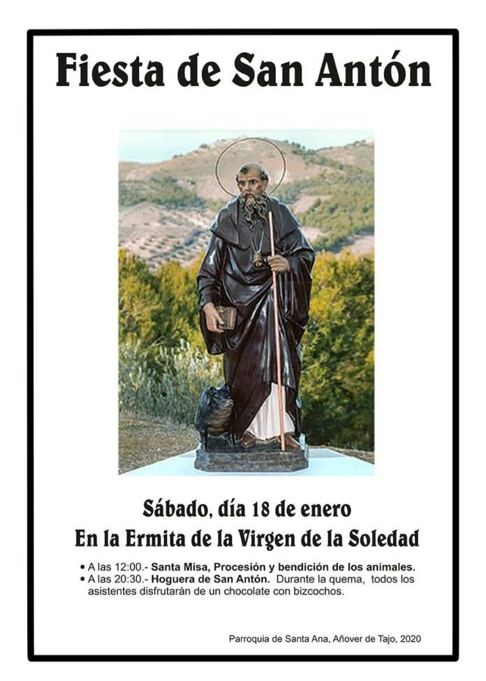 Cartel San Antón - Añover 2020