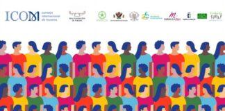 Cartel día de los museos, diversidad religiosa, género e infancia